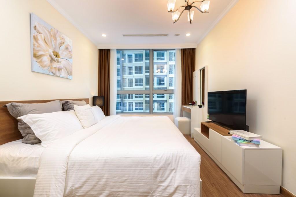 Cho thuê căn hộ dịch vụ vinhomes central park ngắn hạn