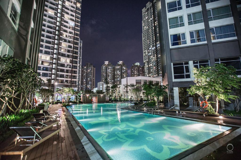 Cho thuê căn hộ Vinhomes Central park theo ngày