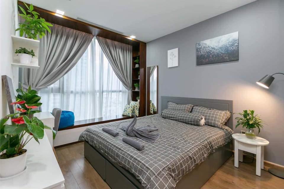 Thuê căn hộ Vinhomes Central Park theo ngày